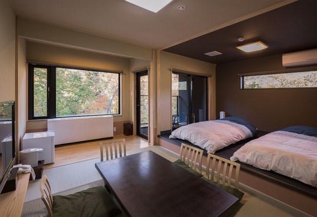 デザインの異なる客室