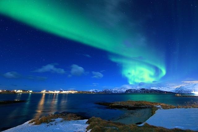 一生に一度は見たい!世界の「オーロラ」鑑賞スポット10選④トロムソ(ノルウェー)