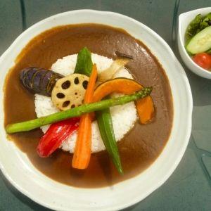北海道で野菜がばっちり摂れるカレーを食べようその0