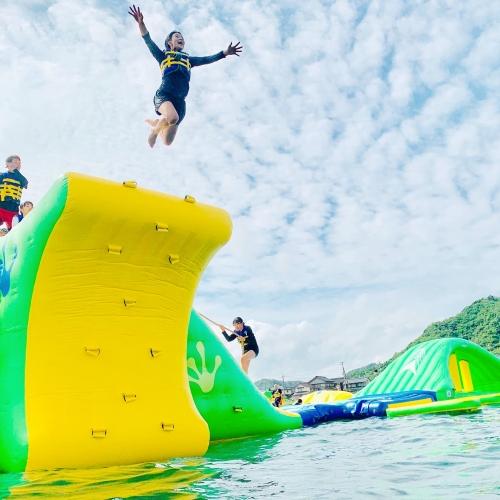 最新の海遊び「フロリックシーアドベンチャーパーク」