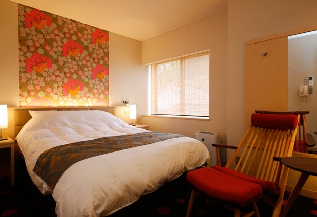 客室はコンセプトごとに異なるこだわりデザインで全8室