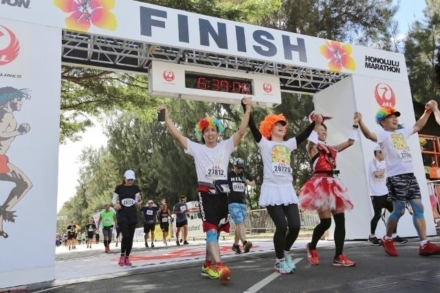 ホノルルマラソンが人気の理由▶新しい自分を発見できる