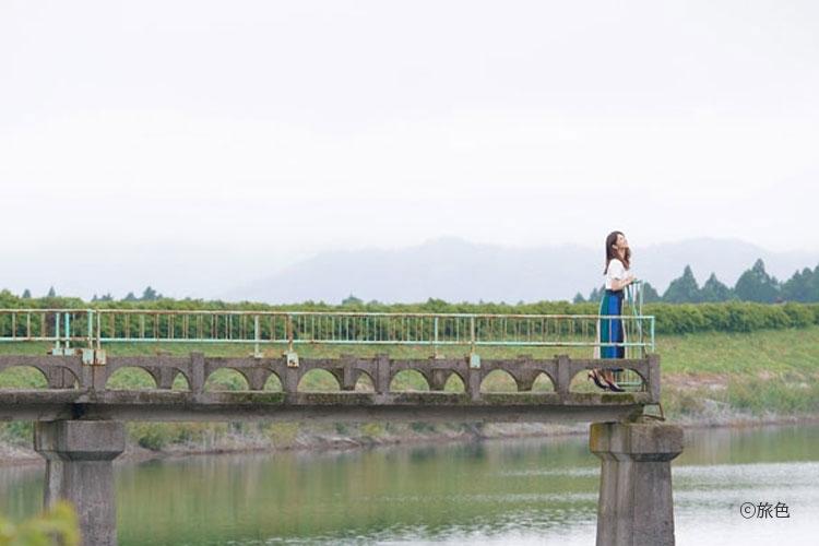 小倉優子さんが都会を離れ自然を満喫! 鳥取県倉吉市でリフレッシュ旅その2
