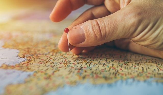 「新年旅プラン」計画②行きたい場所を3つに絞る