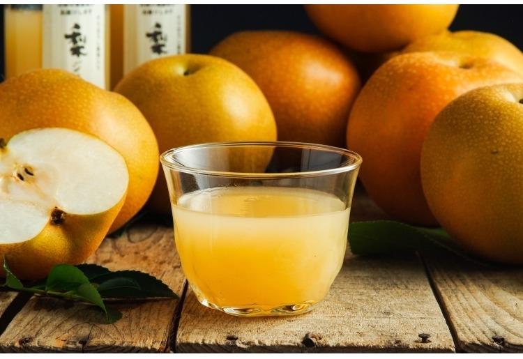 もぎてたの梨のようなフレッシュさ「梨ジュース」(大分)