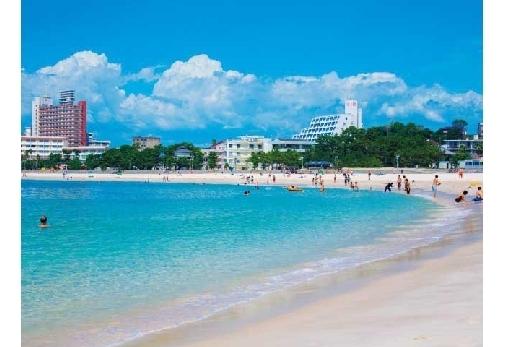 綺麗で美しすぎる日本のビーチ③和歌山県・白良浜