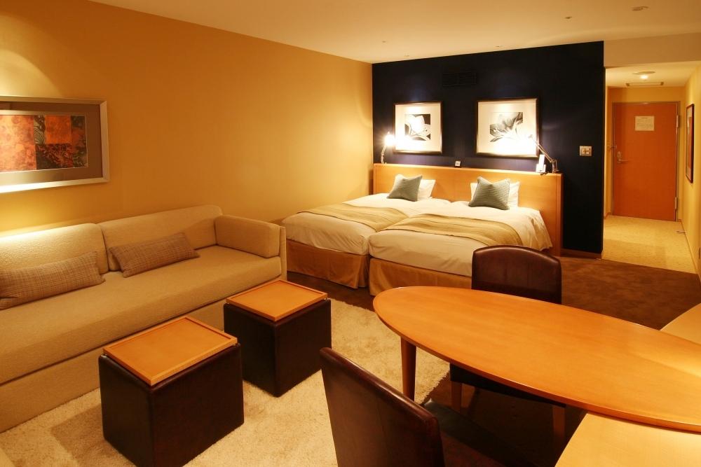 多彩なタイプの客室をゆっくり寛げる