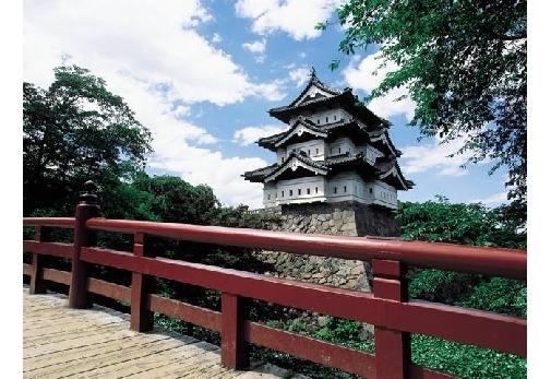 「弘前城」を観光