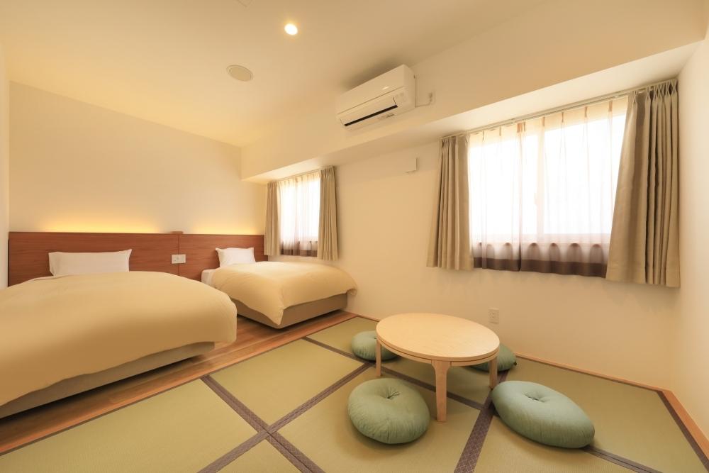 女性ひとり旅&子連れでの宿泊も快適な客室