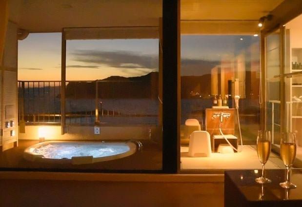 オーシャンビューの露天風呂付き客室がある宿④満ちてくる心の宿 吉夢/千葉県