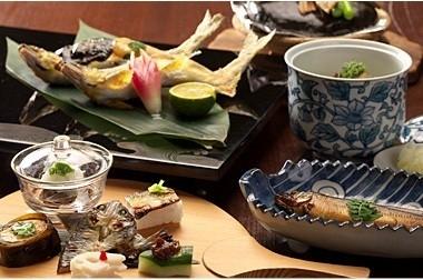 夏といえば……のアユを楽しめる「日本料理 ひら井」