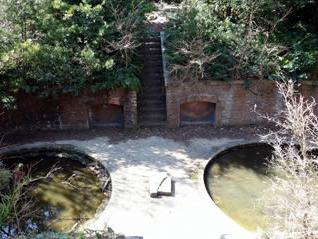 まるでジブリ映画!天空の城ラピュタが友ヶ島にあった③水に埋もれた跡地