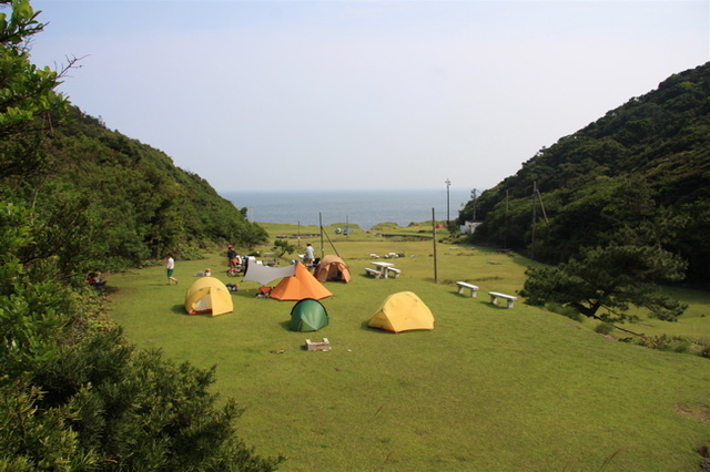 まるでジブリ映画!天空の城ラピュタが友ヶ島にあった④キャンプも可能