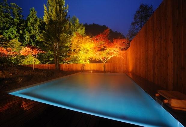 「山の神温泉 優香苑」の魅力②とろみのある山の神温泉を満喫