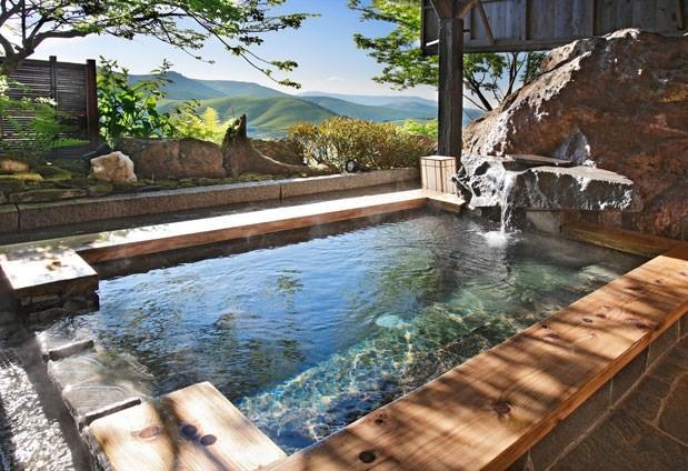 「寛ぎの宿 澤右衛門」の魅力とは②眺望のいい露天風呂