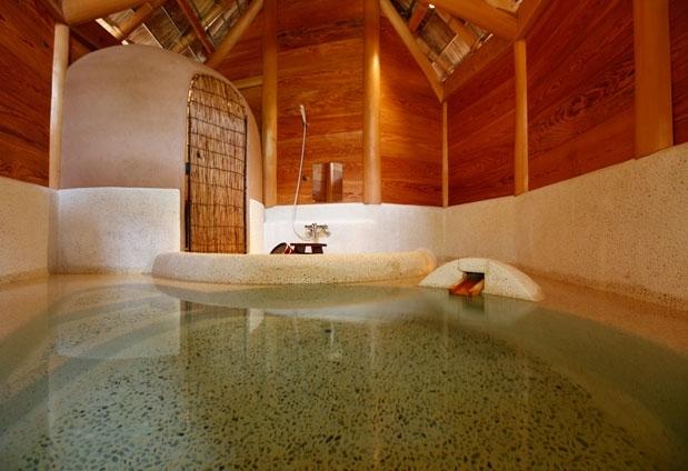 「日本三美人の湯」を贅沢に愉しめる貸切風呂