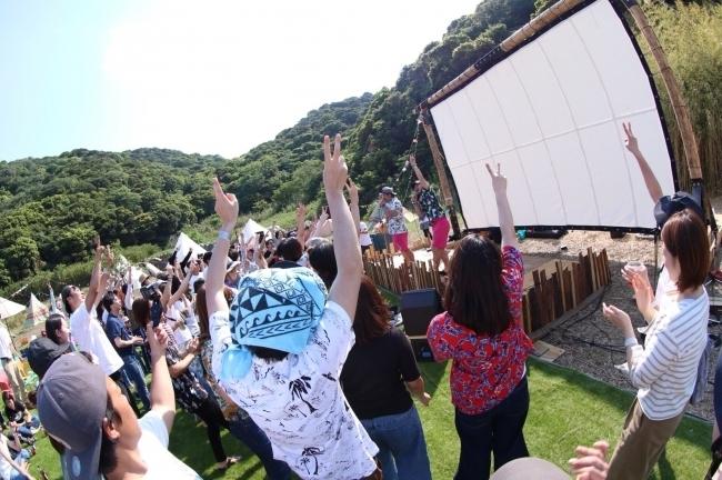 【和歌山】G.Wは無人島で野外フェス! 「MUJINTO cinema CAMP KANSAI 2020」へ行こう