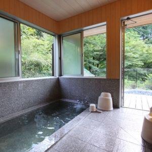 高野山の麓、玉川峡の眺め。和歌山県の宿「やどり温泉 いやしの湯」