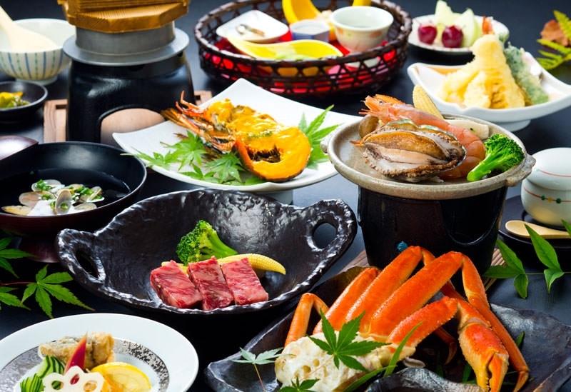会席料理がリーズナブルに楽しめる「関空温泉 ホテルガーデンパレス」