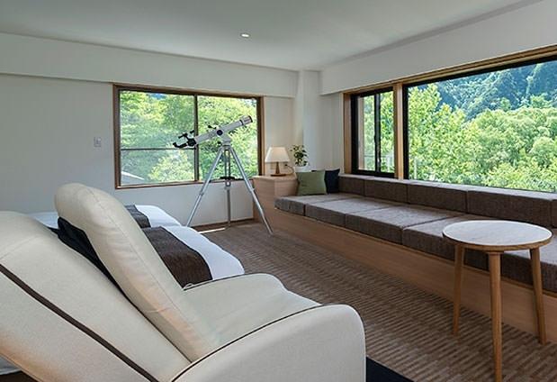 山岳リゾートで清らかな空気と過ごす時間。温泉にも浸かれるホテルに泊まろうその1