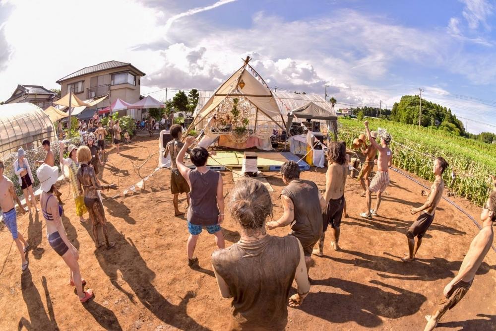 泥フェス「Mud Land Fest 2019」