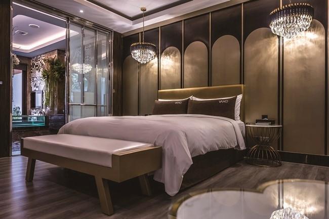 プレジデンシャルスイートは、リゾートホテルを彷彿とさせる豪奢な空間。