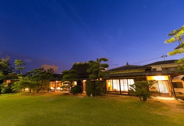 広島県にある「西山別館」の魅力①8室の離れ