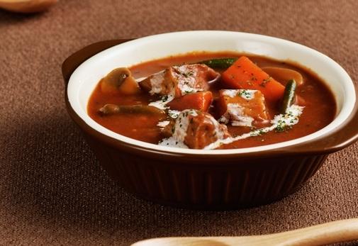 自宅でもスープを食べよう