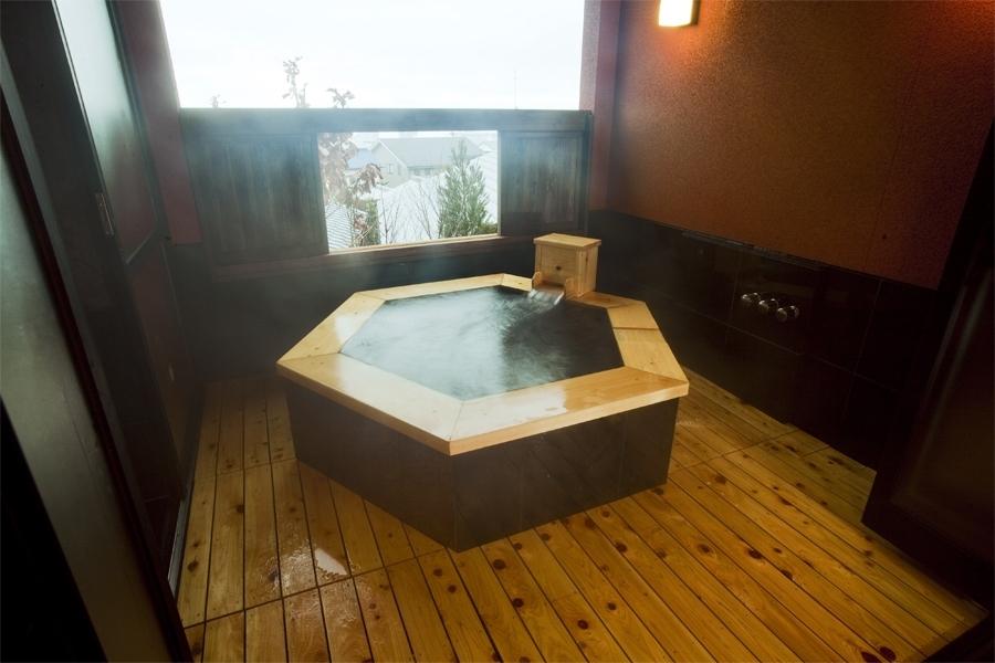 別府温泉郷の露天風呂付き客室④徳の宿 ふぶ庵