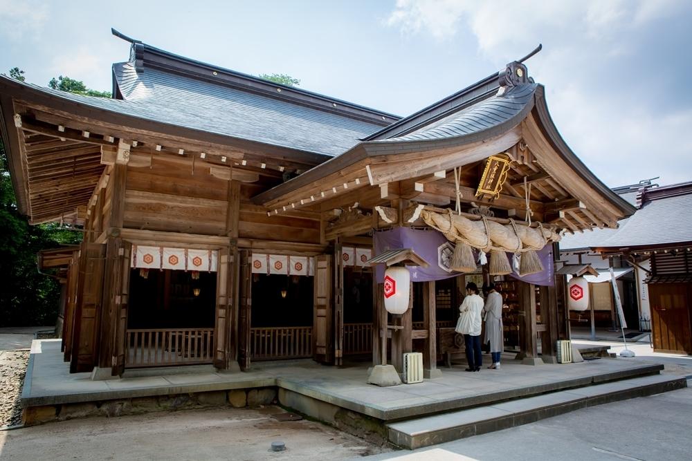 ①日本古来の幸せが集まる場所[八重垣神社]