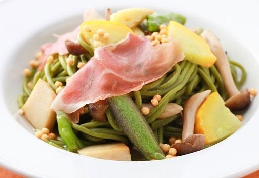 京野菜や和テイストのイタリアン料理