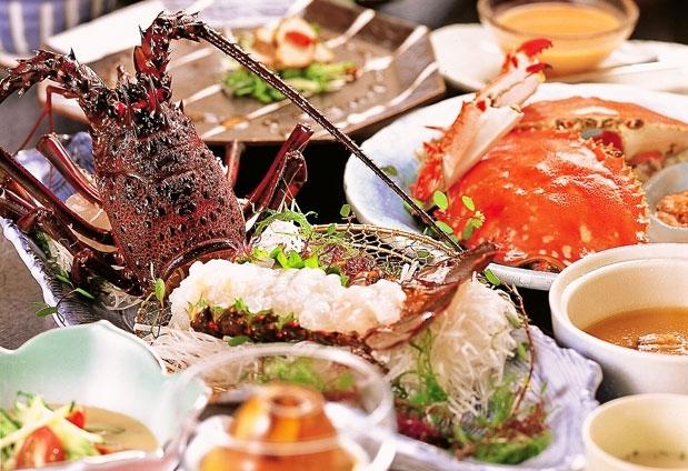 海の幸を味わえる料理