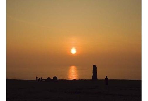日本海の絶景を望む「入道崎」