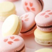 和菓子のような不思議なマカロンはいかが? 桜リキュールや酒粕を使った2色の「紅白マカロン」が登場!