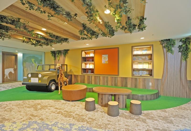リノベーションした「ロイヤルホテル那須」にキッズフロアが登場