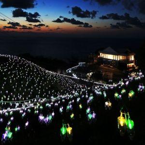 絶景イルミネーション「水仙岬のかがやき2018」3月25日より開催!