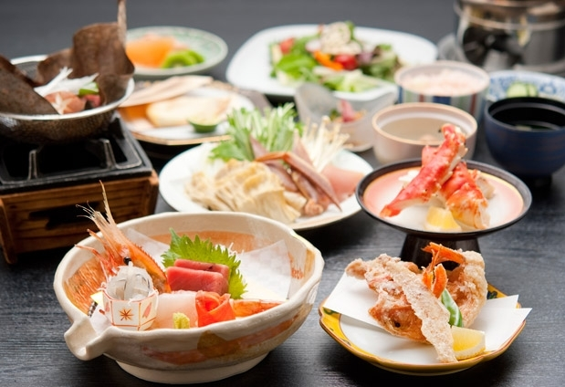 北海道の料理がおすすめの宿①観月苑