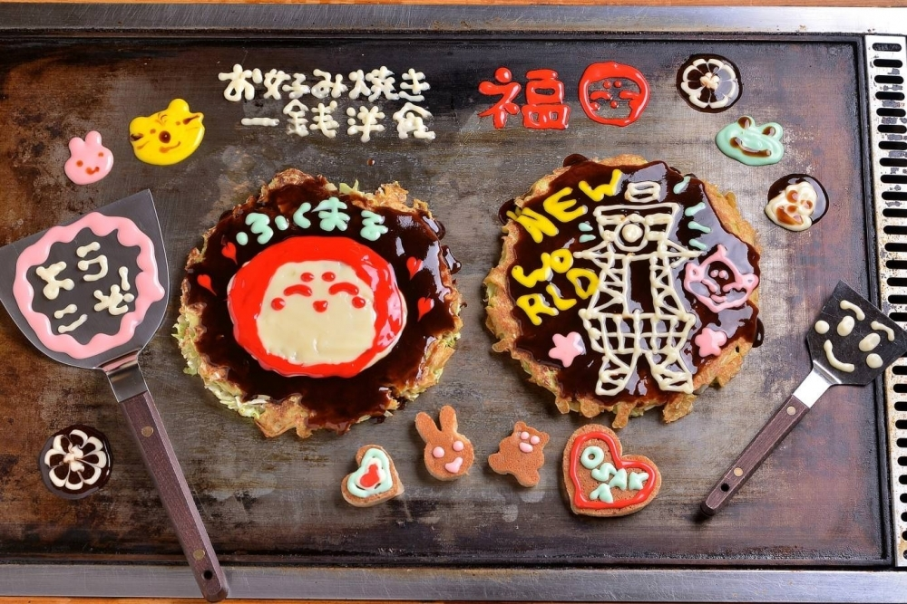 大阪旅行の思い出にぴったり楽しくて美味しい「おこアート」その3