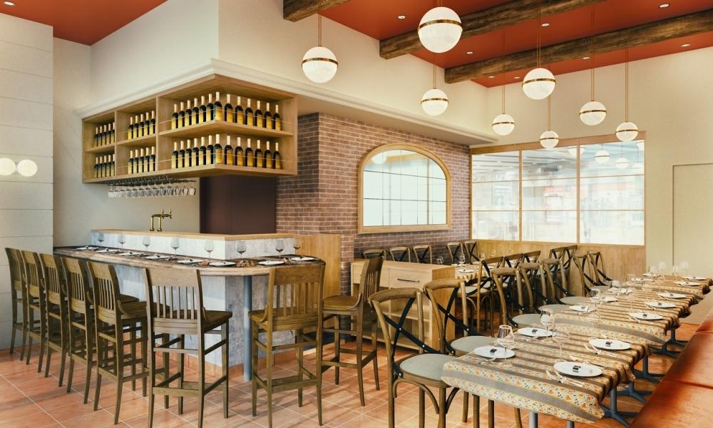 イタリアン・フレンチ・四川料理……。バリエーション豊かな1階の4レストラン