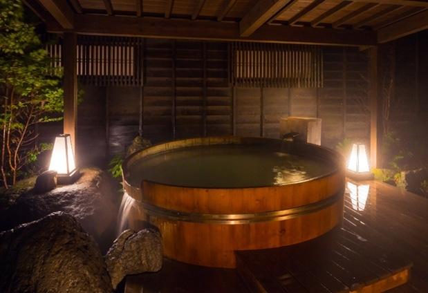 九州で貸切風呂のあるおすすめのお宿①雲仙 富貴屋