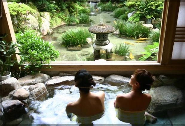 九州で家族風呂のあるおすすめのお宿④鶴の恩返し よみがえりの宿 鶴霊泉