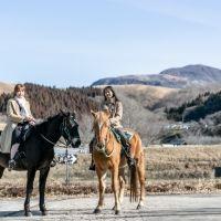 【熊本県】産山村を人気インフルエンサーがナビ!里山を乗馬でパカパカ散歩
