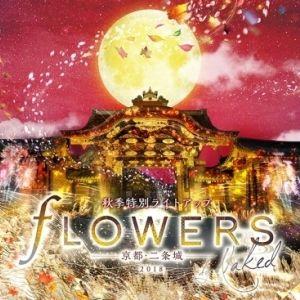 世界遺産 京都・二条城、秋季特別ライトアップ「FLOWERS BY NAKED」開催