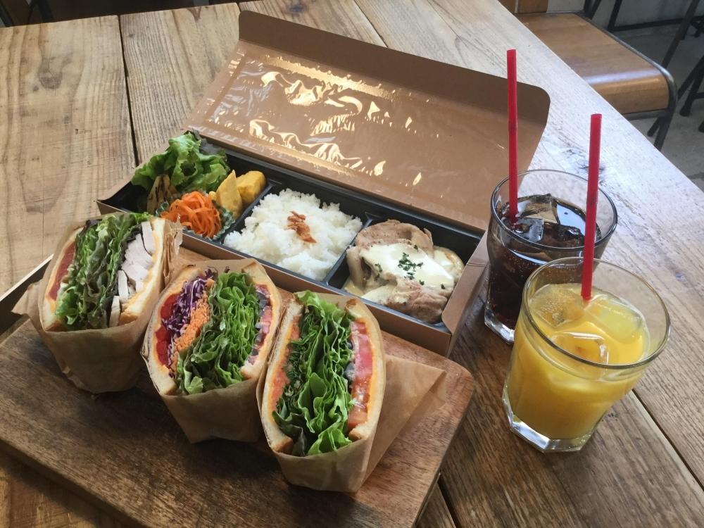 「Sdemic cafe」 #カフェ飯 #テイクアウト #サンドイッチ #小伝馬町駅