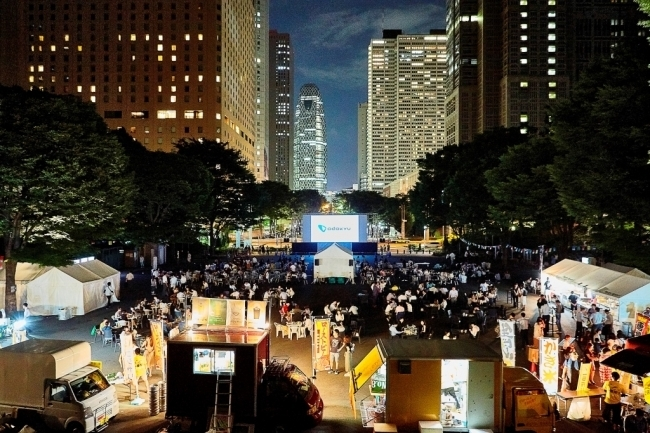 「Screen @ Shinjuku Central Park 2019」会場イメージ
