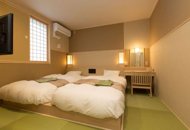 ニューオープンの宿坊「和空下寺町」