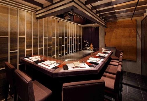 「鉄板焼 いちか」の魅力➂メインカウンター席のほか、個室も完備
