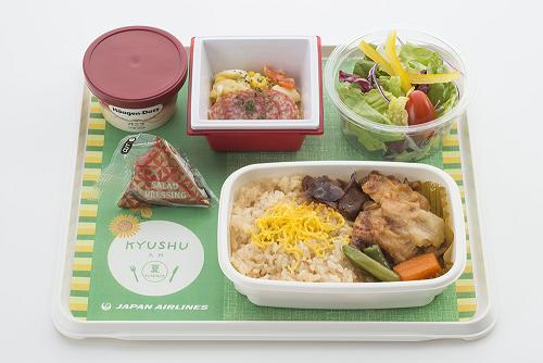 JALの新・機内食がウマすぎる④中国、香港、台湾行きには九州をテーマにした機内食