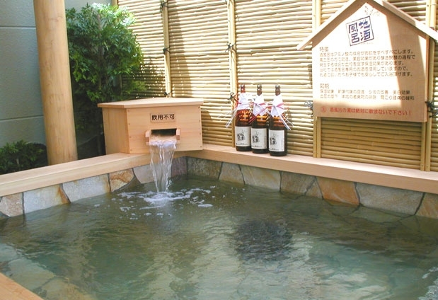 上諏訪温泉「RAKO華乃井ホテル」の魅力①多彩なお風呂