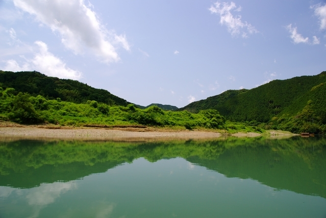 小豆島と名所を巡る4泊5日の旅プラン3日目:遊覧船で四万十川観光